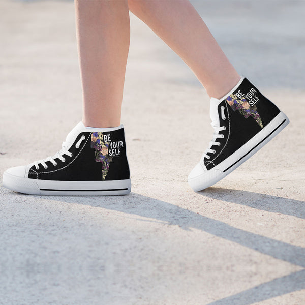 Be Yourself Womens High Top Shoes