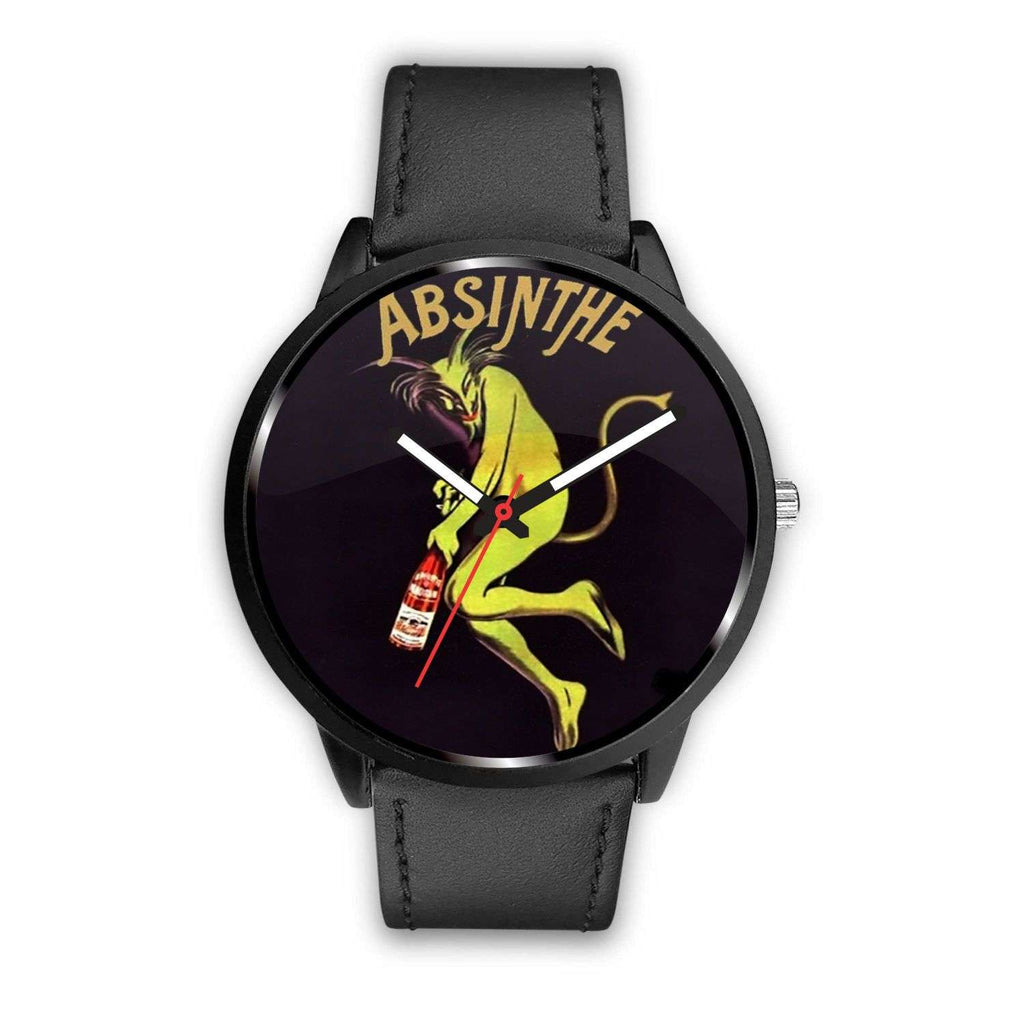 Limited Edition Vintage Inspired Custom Watch Absinthe Gothic Art Nuevo