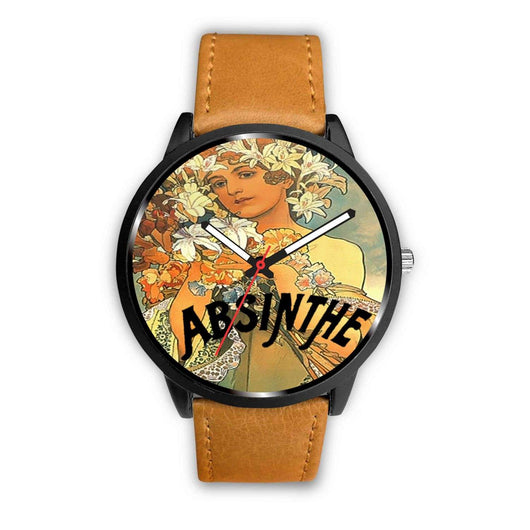 Limited Edition Vintage Inspired Custom Watch Absinthe 1.14 - STUDIO 11 COUTURE
