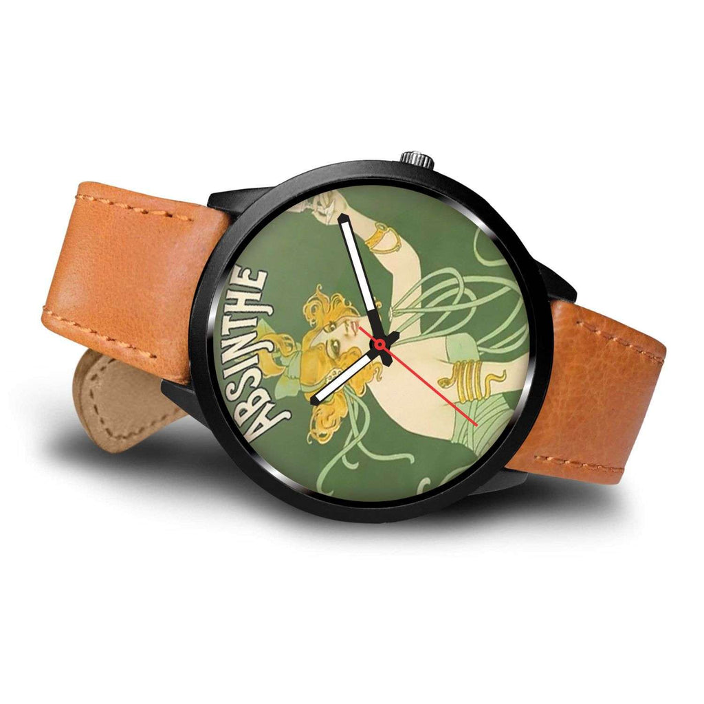 Limited Edition Vintage Inspired Custom Watch Absinthe 1.15