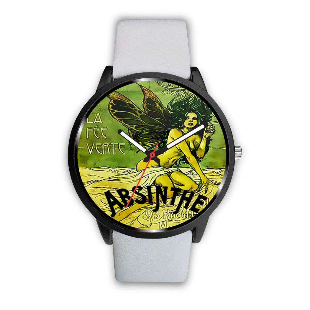 Limited Edition Vintage Inspired Custom Handmade Watch Evil Fairy Absinthe 1.22 - STUDIO 11 COUTURE