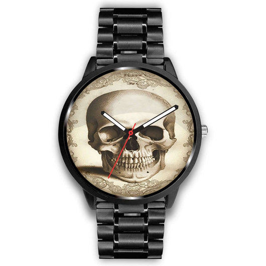 Limited Edition Vintage Inspired Custom Watch Skull Anatomy 1.3