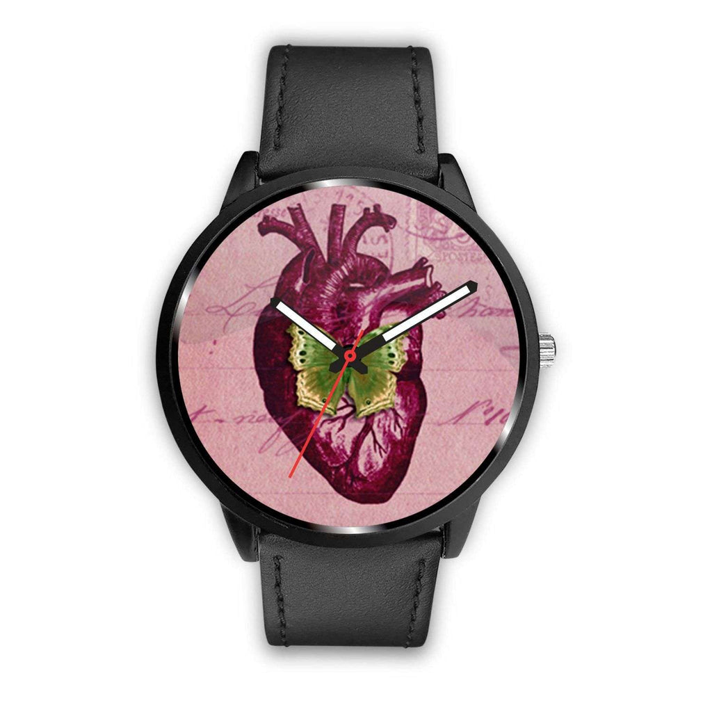 Limited Edition Vintage Inspired Custom Watch Raw Heart Anatomy 5.3