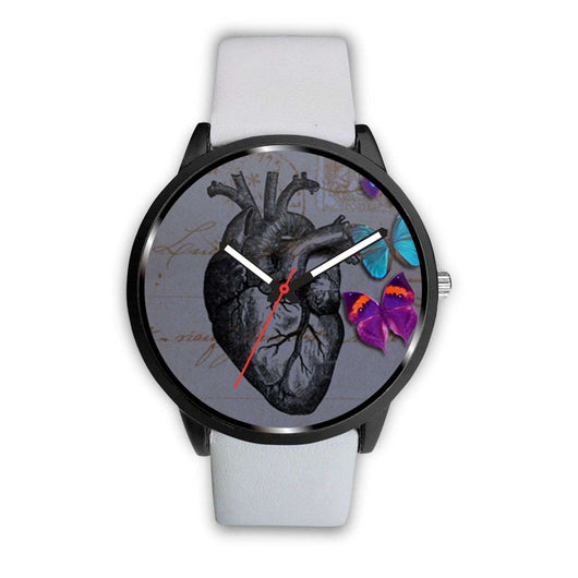 Limited Edition Vintage Inspired Custom Watch Raw Heart Anatomy 5.8