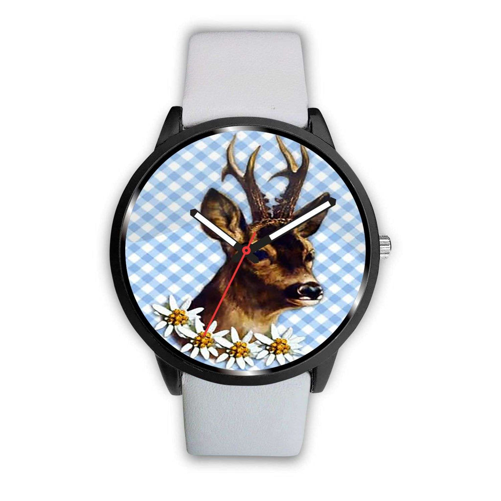 Limited Edition Vintage Inspired Custom Handmade Watch Woodland Deer Animal 9.2 - STUDIO 11 COUTURE