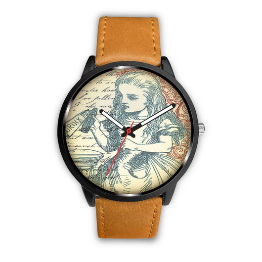 Limited Edition Vintage Inspired Custom Watch Drink Me Alice in Wonderland 10.1