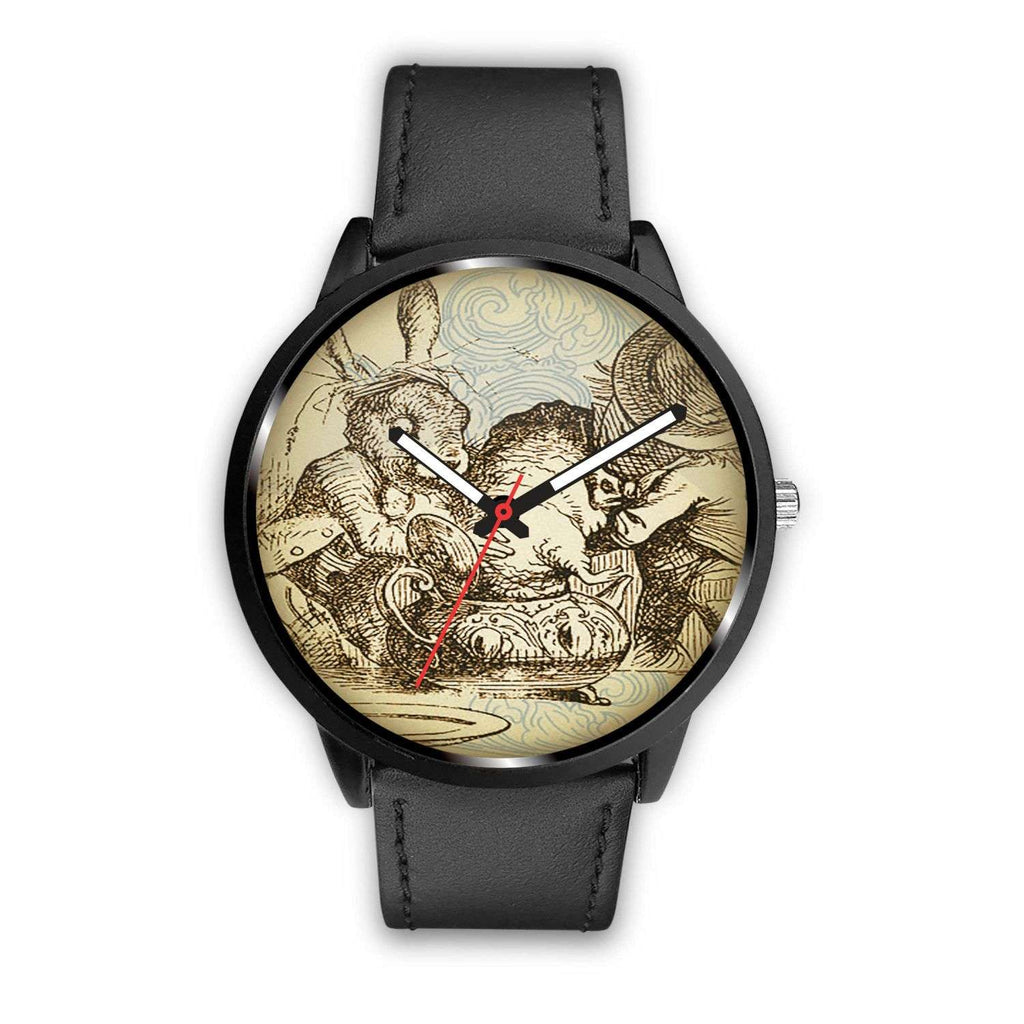 Limited Edition Vintage Inspired Custom Watch Mad Hatter Tea Party Alice in Wonderland 10.2