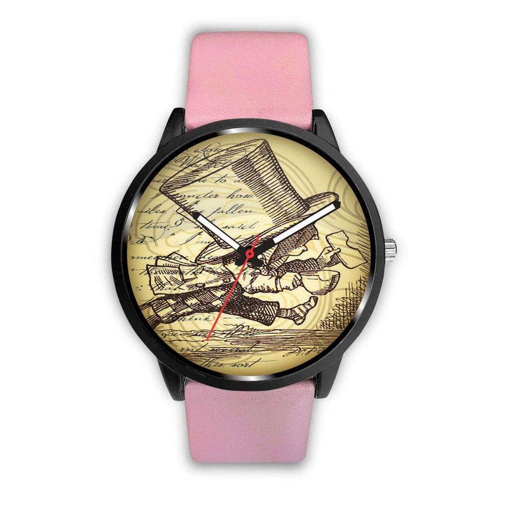 Limited Edition Vintage Inspired Custom Watch Mad Hatter Alice In Wonderland 10.5