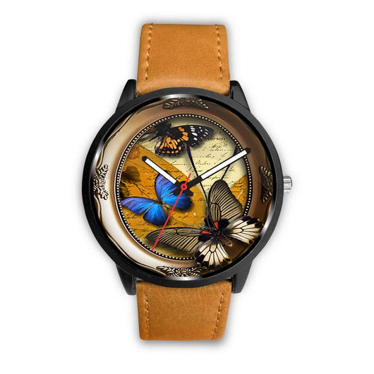 Limited Edition Vintage Inspired Custom Watch Steampunk Butterfly 3.2 - STUDIO 11 COUTURE