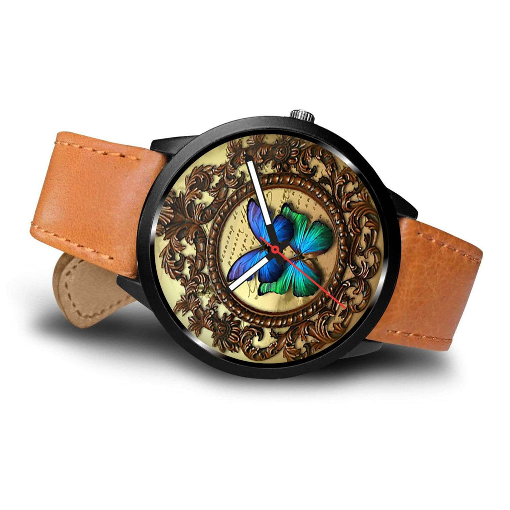 Limited Edition Vintage Inspired Custom Watch Steampunk Butterfly 3.3 - STUDIO 11 COUTURE