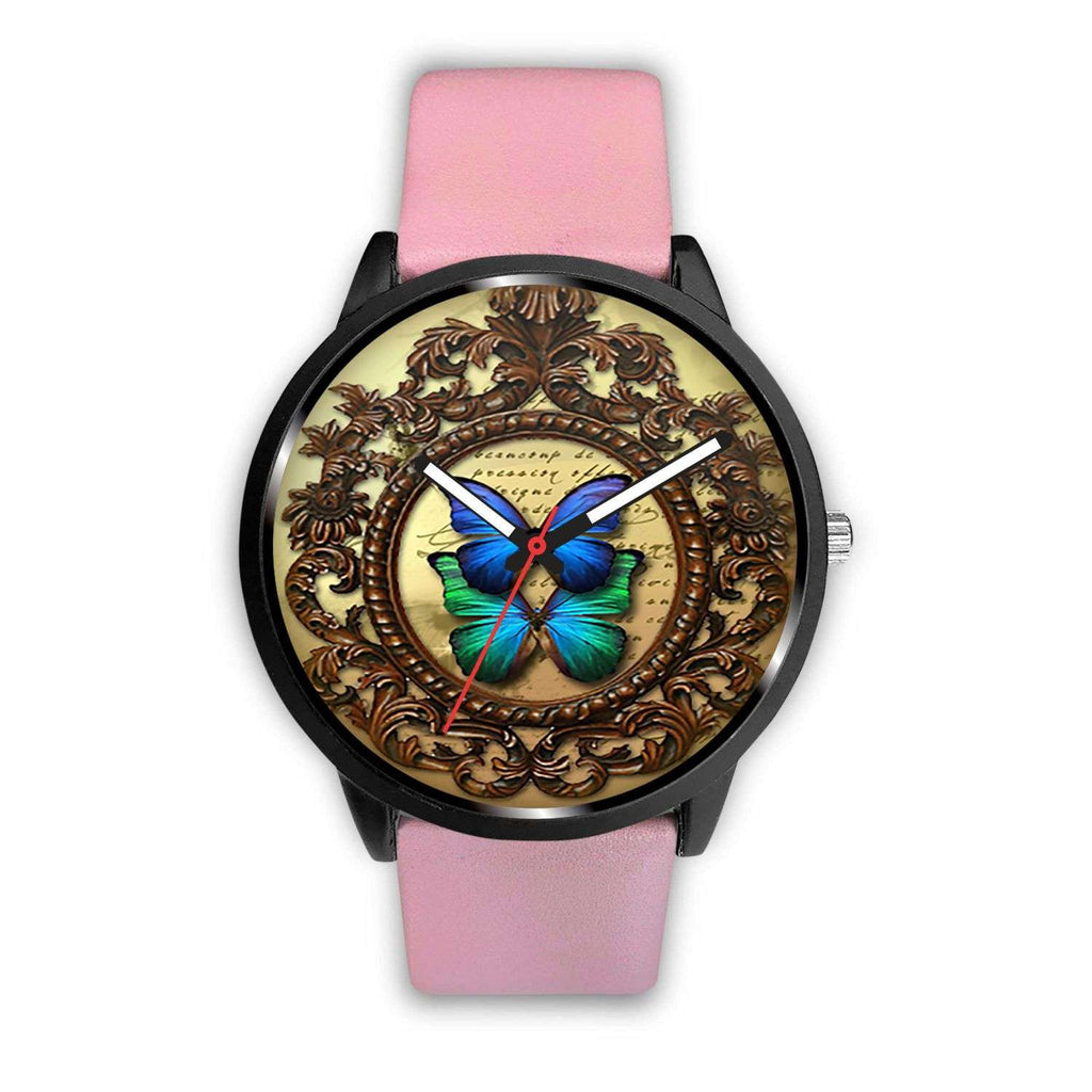 Limited Edition Vintage Inspired Custom Watch Steampunk Butterfly 3.3