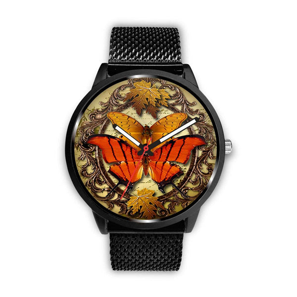 Limited Edition Vintage Inspired Custom Watch Steampunk Butterfly 3.7