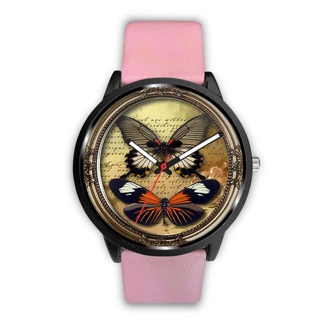 Limited Edition Vintage Inspired Custom Watch Steampunk Butterfly 3.10