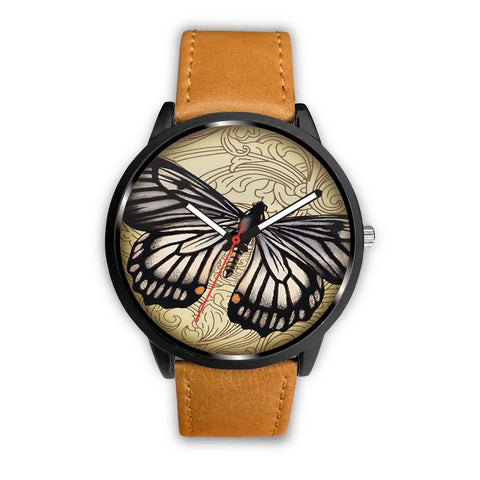 Limited Edition Vintage Inspired Custom Watch Steampunk Taxidermy Butterfly Bug 1.3