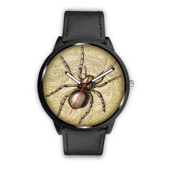 Image of Limited Edition Vintage Inspired Custom Watch Steampunk Taxidermy Spider Bug 1.2