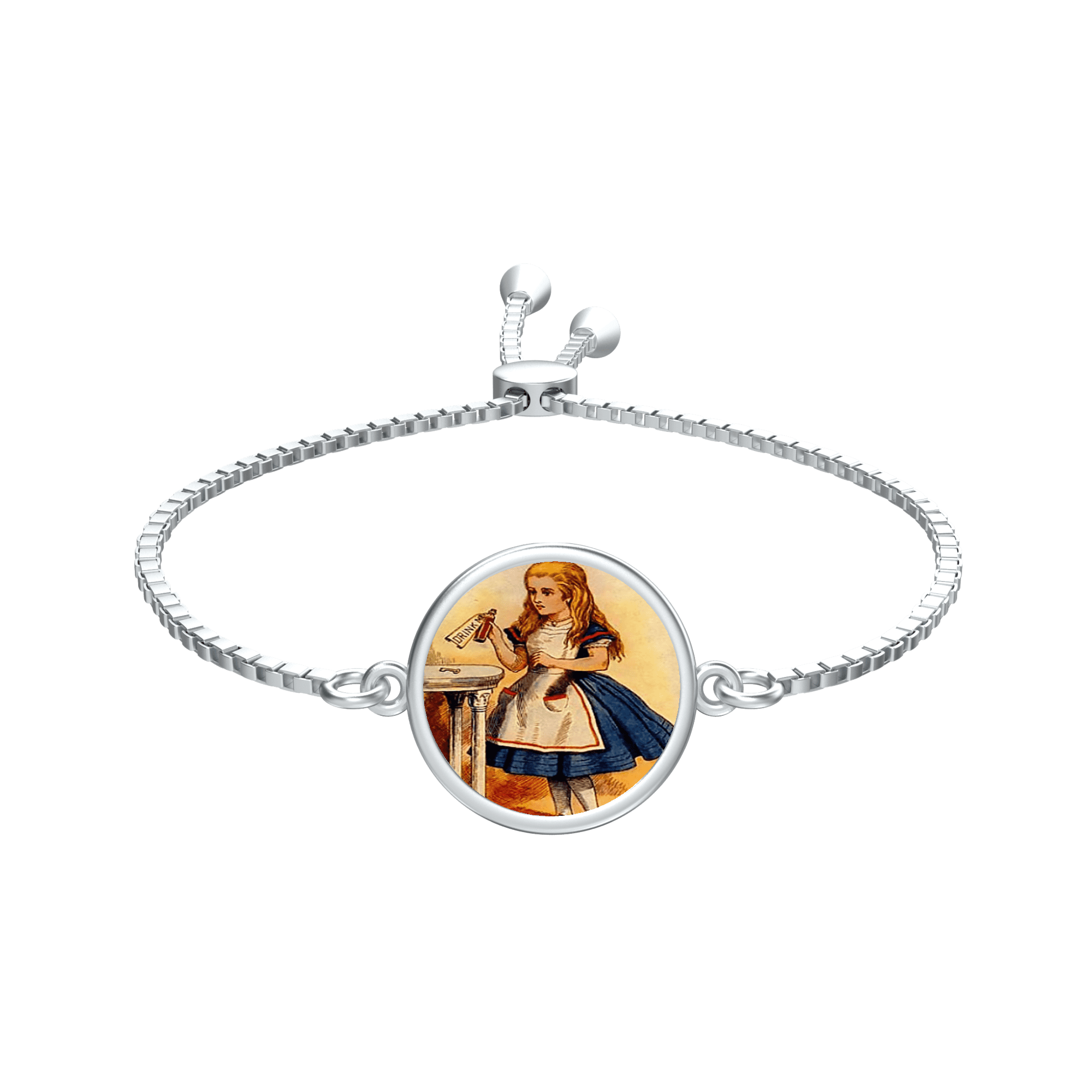 Alice In Wonderland Custom Bracelet