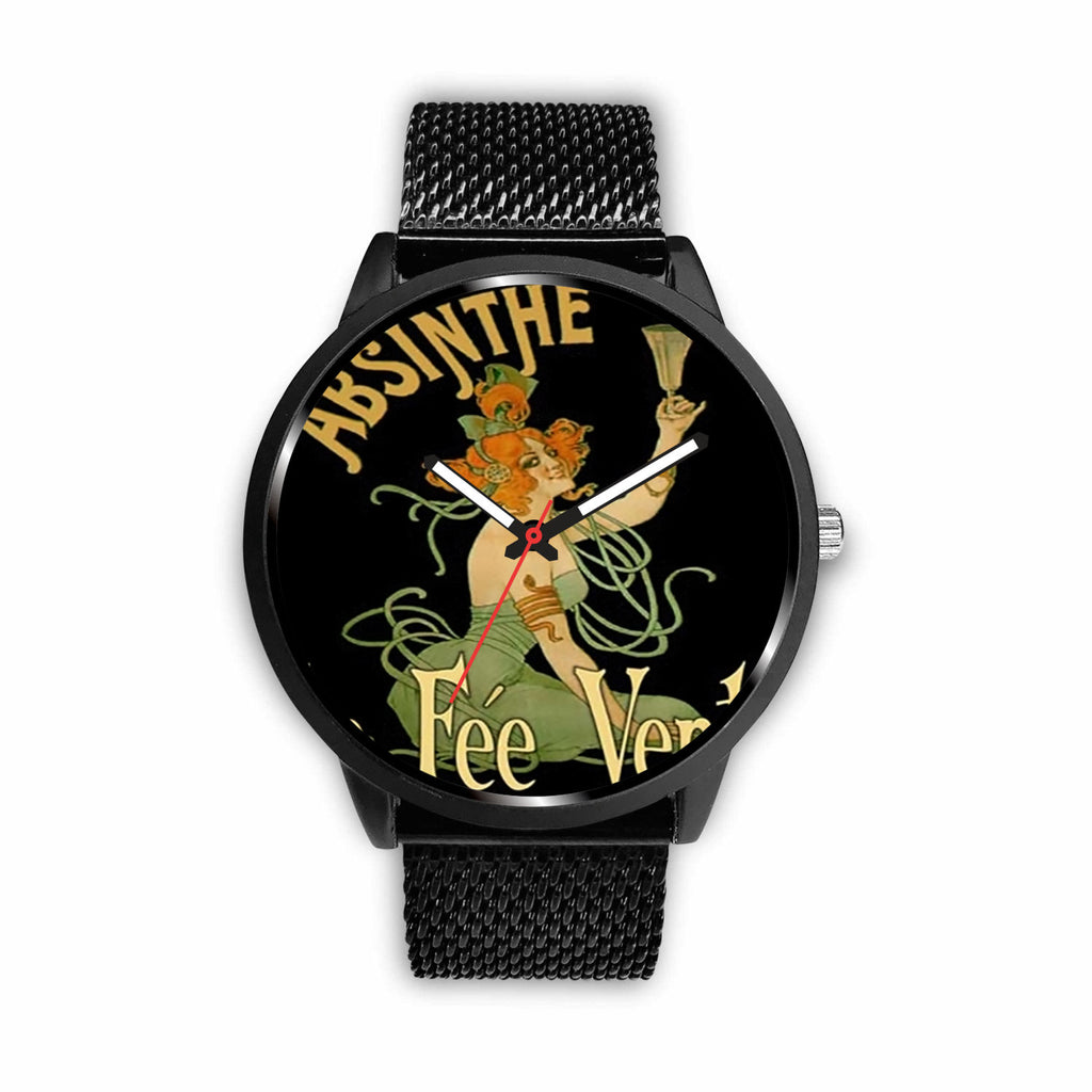 Limited Edition Vintage Inspired Custom Watch Absinthe Clock 1.7