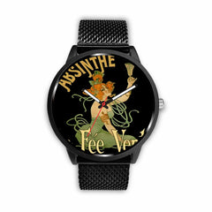 Image of Limited Edition Vintage Inspired Custom Watch Absinthe Clock 1.7