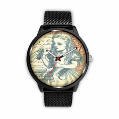 Image of Limited Edition Vintage Inspired Custom Watch Alice 10.1