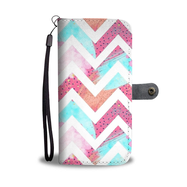 Custom Phone Wallet Available For All Phone Models 80's Fashion 2 Phone Wallet