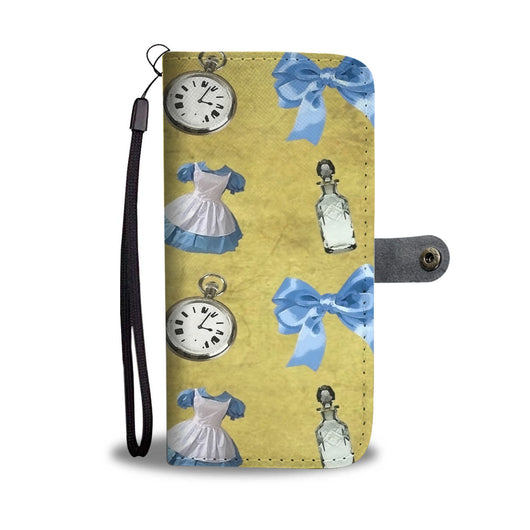 Custom Phone Wallet Available For All Phone Models Alice Paper Fashion 2 Phone Wallet - STUDIO 11 COUTURE