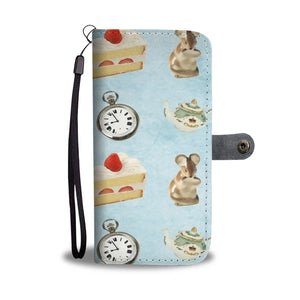 Custom Phone Wallet Available For All Phone Models Alice Paper Fashion 4 Phone Wallet