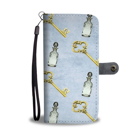 Custom Phone Wallet Available For All Phone Models Alice Paper Fashion 7 Phone Wallet - STUDIO 11 COUTURE