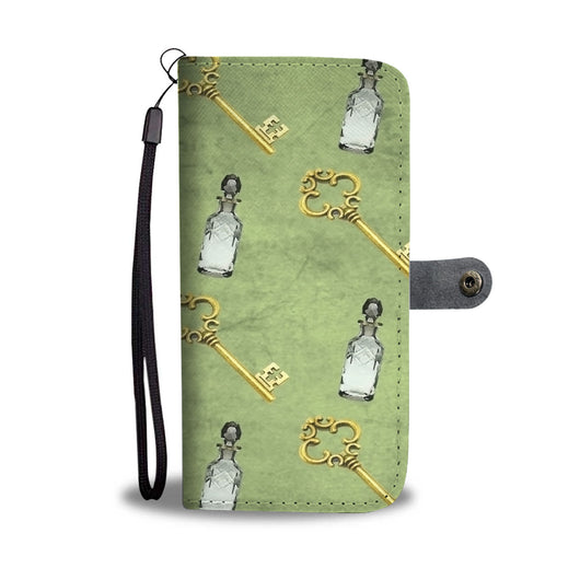 Custom Phone Wallet Available For All Phone Models Alice Paper Fashion 8 Phone Wallet - STUDIO 11 COUTURE
