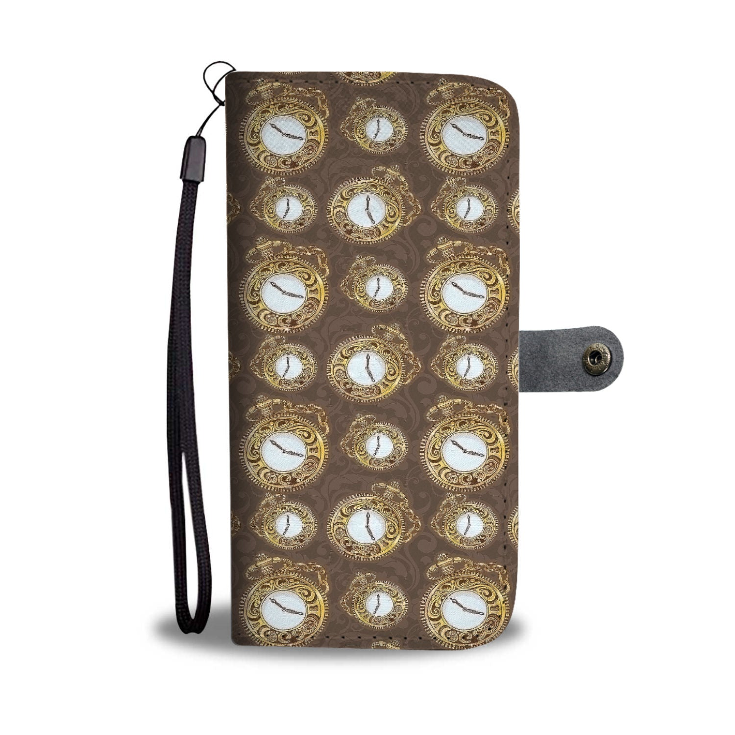 Custom Phone Wallet Available For All Phone Models Alice Time Watch Wallet