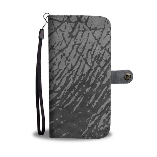 Custom Phone Wallet Available For All Phone Models Animal Print Rhino Elephant Phone Wallet - STUDIO 11 COUTURE
