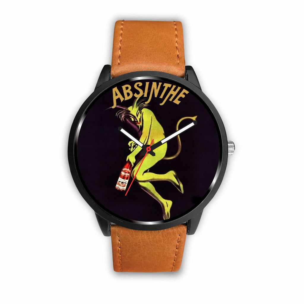 Limited Edition Vintage Inspired Custom Watch Absinthe Clock 1.10 - STUDIO 11 COUTURE
