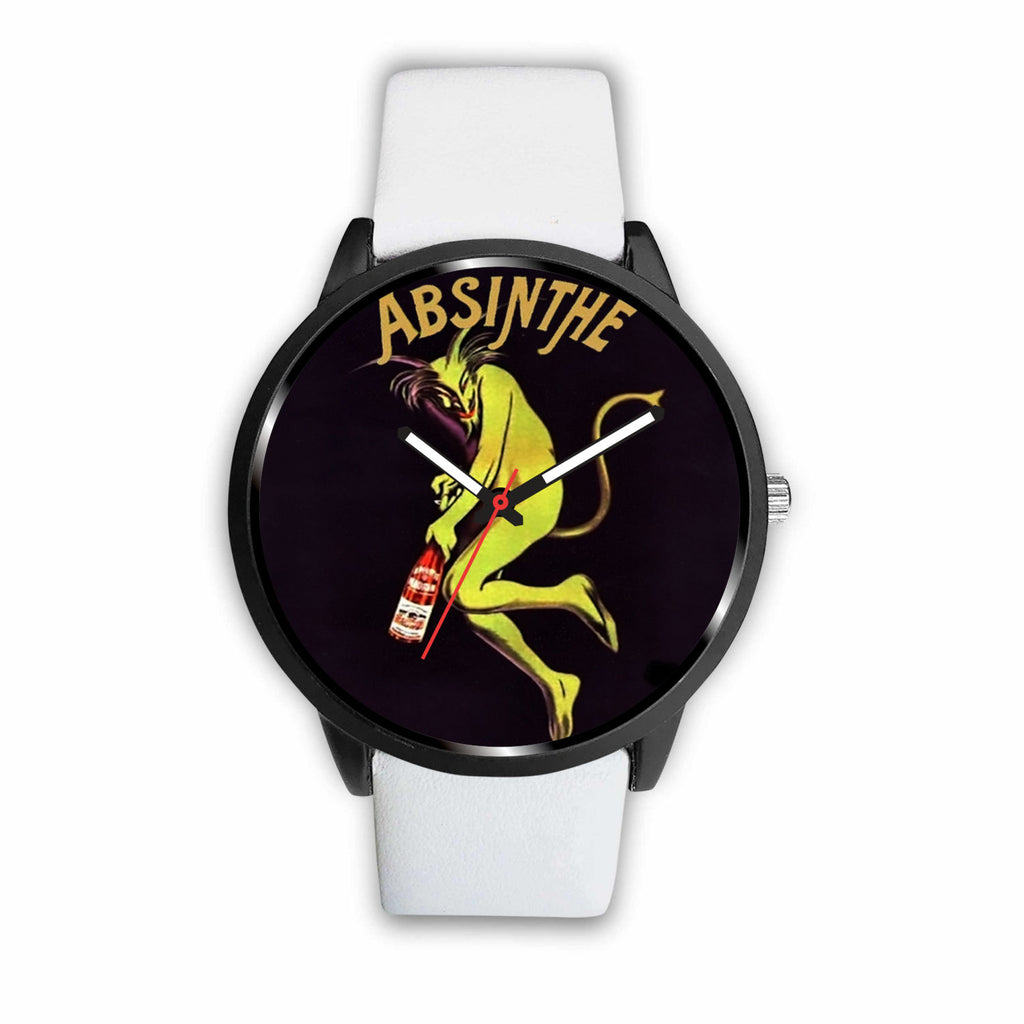 Limited Edition Vintage Inspired Custom Watch Absinthe Clock 1.10