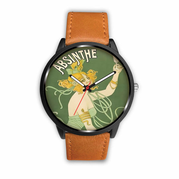 Limited Edition Vintage Inspired Custom Watch Absinthe Clock 1.15