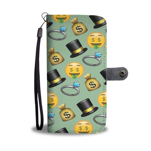 Custom Phone Wallet Available For All Phone Models Emojis Money Phone Wallet - STUDIO 11 COUTURE