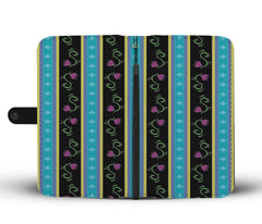 Custom Phone Wallet Available For All Phone Models Frozen Dress Pattern Phone Wallet