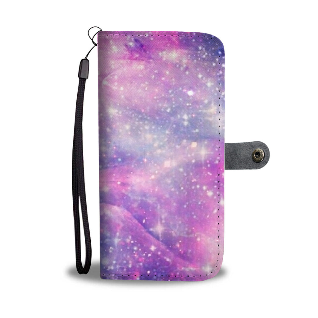 Custom Phone Wallet Available For All Phone Models Galaxy Pastel 1 Phone Wallet - STUDIO 11 COUTURE