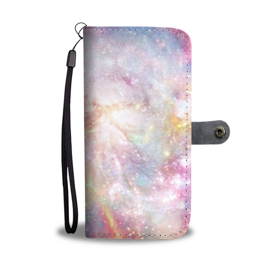 Custom Phone Wallet Available For All Phone Models Galaxy Pastel 6 Phone Wallet