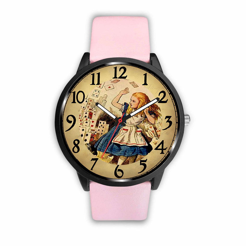 Limited Edition Vintage Inspired Custom Watch Alice Clock Face 1.4 - STUDIO 11 COUTURE