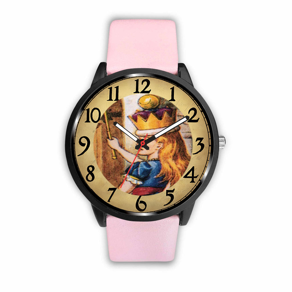 Limited Edition Vintage Inspired Custom Watch Alice Clock Face 1.7 - STUDIO 11 COUTURE