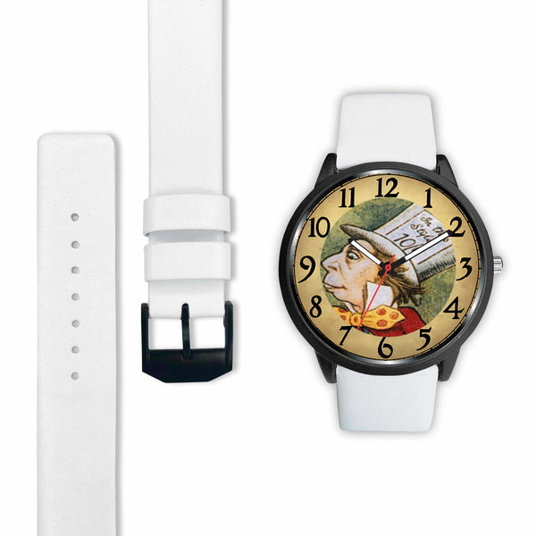 Limited Edition Vintage Inspired Custom Watch Alice Clock Face 1.13
