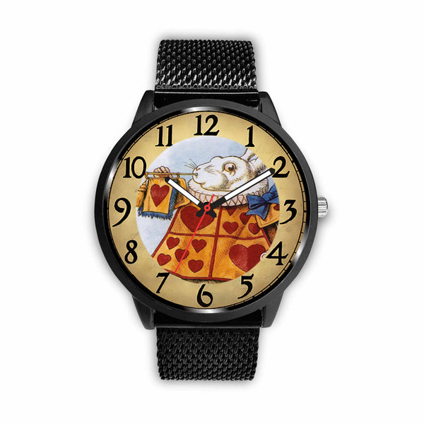Limited Edition Vintage Inspired Custom Watch Alice Clock Face 1.19