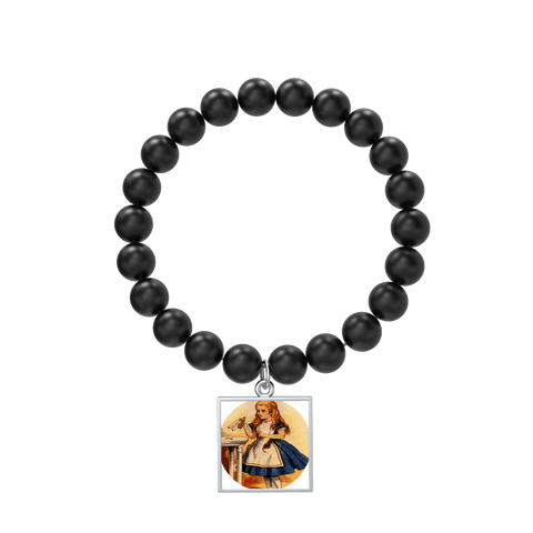 Alice in Wonderland Custom Zen Beaded Bracelet