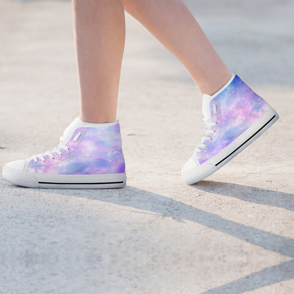 Galaxy Pastel Womens High Top Shoes - STUDIO 11 COUTURE