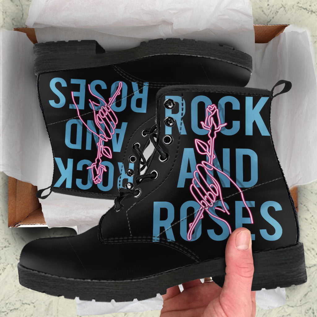 Rock And Roses Womens Leather Boots