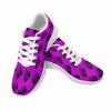 Image of Model020 Women's Sneaker 80s Boombox Purple Fuchsia and Black - STUDIO 11 COUTURE