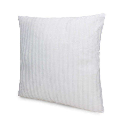 Striped Square Pillow Inner Cushion Insert 17.7 x 17.7 inches.  Fit Our Pillow Cases. - STUDIO 11 COUTURE