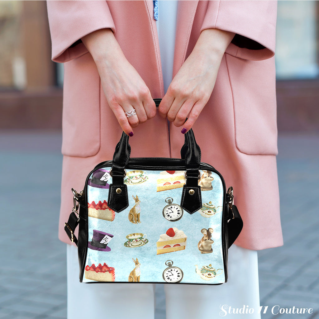 Alice In Wonderland Alice Paper 4 Shoulder Handbag - STUDIO 11 COUTURE
