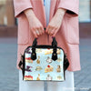 Image of Alice In Wonderland Alice Paper 4 Shoulder Handbag - STUDIO 11 COUTURE