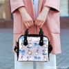 Image of Alice In Wonderland Alice Paper 1 Shoulder Handbag - STUDIO 11 COUTURE