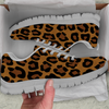Image of Cheetah Skin Womens Athletic Sneakers